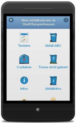 Abfall-App informiert tagesgenau. Kein Download. Keine Installation Dank webbasierter Technik.