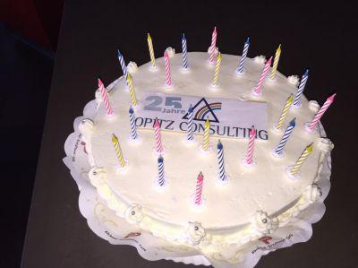 OPITZ CONSULTING wird 25 Jahre alt