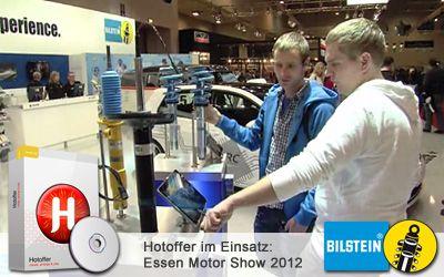 Bilstein Messestand (Essen Motorshow 2012)