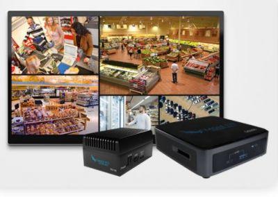 Local Display Station-Appliance von Eagle Eye Networks