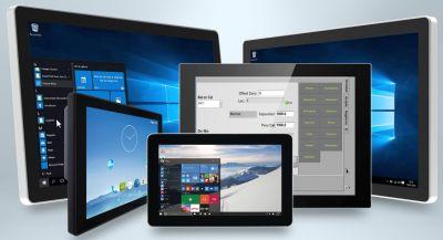 Die kosteneffizienten neuen Produktserien von TL Electronic als reine Display-Lösung oder als leistungsstarke Panel-PC-Variante.