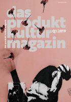 Cover der deutschen Ausgabe des Produktkulturmagazins der TGOA AG, Ausgabe Quartal 1 - 2019