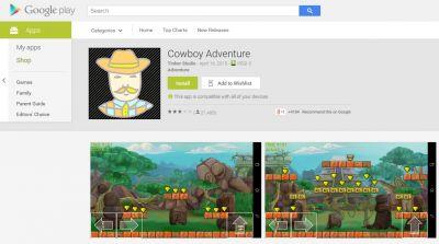 "Malware an Bord: ""Cowboy Adventure"" von Tinker Studio"