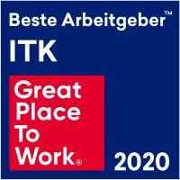 Great Place to Work® Siegel für beste ITK-Arbeitgeber