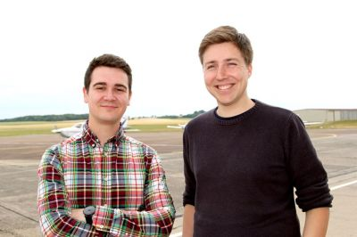 Gründer von Flyt.club (Peter Nürnberg & Kim Becker)