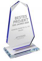 Fruchtsafthersteller Amecke erhält ATVISIO Award 2020