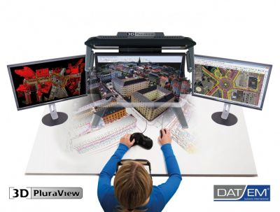 3D PluraView Systeme sind mit allen DAT/EM-Produkte kompatibel (© Schneider Digital)