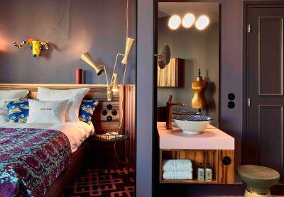 Zimmer 25hours Hotel Terminus Nord. Bildquelle: 25hours Hotels/Steve Herud