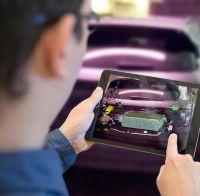 Defekte Fahrzeug-Bauteile via Tablet erkennen, das ermöglichen AR-Technologien des Fraunhofer IGD.