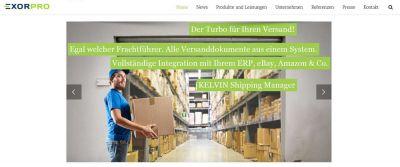 Website-Relaunch EXOR PRO GmbH
