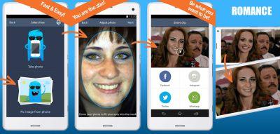 Facem-app - In vier Schritten kannst Du mit facem zum Hollywoodstar werden