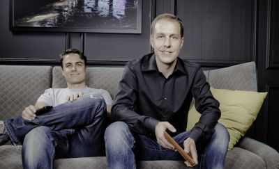 Die beiden Geschäftsführer von KAVAJ: Jörg Kundrath (links) und Kai Klement (rechts).