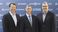 (v.l.): Andreas Kiesewetter, Rico Siefermann und Dirk Pinter