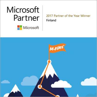 M-Files ist Partner-of-the-Year von Microsoft