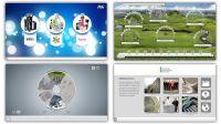 Beispiele der B12-Touch Software
