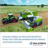 Net at Work entwickelt mit MS-SharePoint neues Intranet für CLAAS