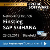 """Networking Brunch """"Einstieg SAP S/4HANA"""" in Bielefeld"""