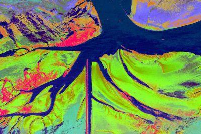 Sedimenttypen im Wattbereich: Geodaten aus dem BMVI-Forschungsprojekt GeoWAM © Karlsruher Institut für Technologie (KIT)