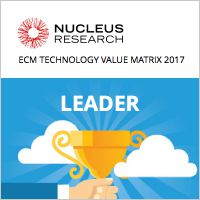 Nucleus Research sieht M-Files als Leader in ECM Value Matrix 2017