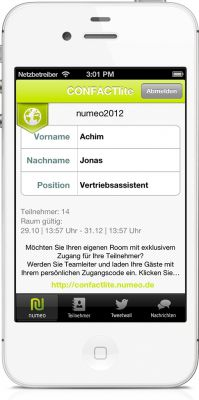 CONFACTlite - ein Produkt der numeo GmbH