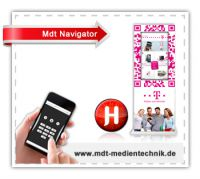 Interaktive Werbung mit Qr-Code und NFC-Chip