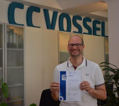 Carsten C. Vossel, Geschäftsführer der CCVOSSEL GmbH