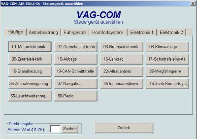 VAG Motor Diagnose Software von Ross Tech im LeXXstore Onlineshop