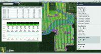 Spatial Analytics für die Landwirtschaft: Das feldbezogene Dashboard in Cadenza Web zeigt zentimetergenau Boden-, Ertrags- und Wet