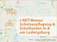 12.000 Schüler in 23 Schulen in und um Ludwigsburg nutzen i-NET-Menue®
