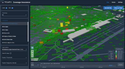 Coverage Assurance 5G ermöglicht Netzbetreibern über eine 3D-Ansicht Einblicke in die Benutzererfahrung.