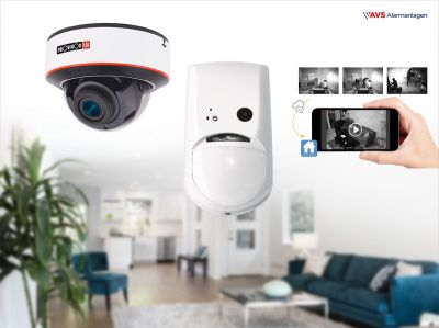 Mehr Sicherheit durch Einbindung von Kameras an ein AVS Alarmanlagen-System (© )