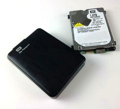 WD My Passport Daten retten von verschlüsselter Festplatte