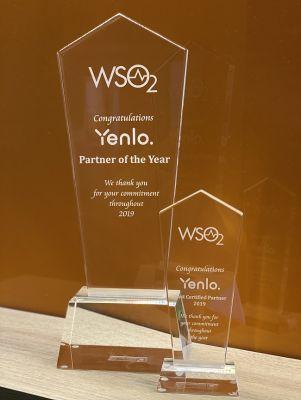 WSO2 - Yenlo erhält Partner of the Year Award 2019 und Most Certified Partner 2019 Award. (Bildquelle: Yenlo)