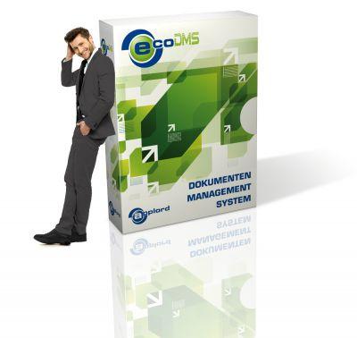 Dokumentenmanagementsystem ecoDMS mit dem besten Preis-Leistungsverhältnis. www.ecodms.de