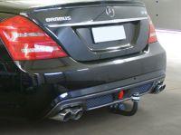 Anhängerkupplung am Mercedes W221 mit Brabus Optik Paket