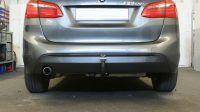 Abnehmbare Heckträgeraufnahme für den 2er BMW – 225XE bei www.ahk-preisbrecher.de mit Video