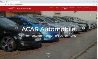 cmsGENIAL-System für ACAR Automobile