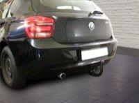 abnehmbare Anhängerkupplung am BMW F20