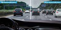 Autofahren: Bessere Sicht bei Regen dank Frontscheibenschutz von DiamondProtect