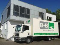 Eine der Niederlassungen der B+B Autovermietung