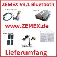ZEMEX V3.1 Bluetooth Freisprecheinrichtung mit A2DP Audio Streaming