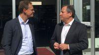 Der Regierende Bürgermeister Michael Müller besuchte Taxi Berlin
