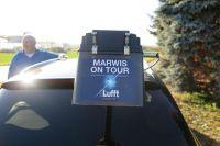 Mobiler Straßenwettersensor MARWIS von Lufft auf Deutschland-Tour