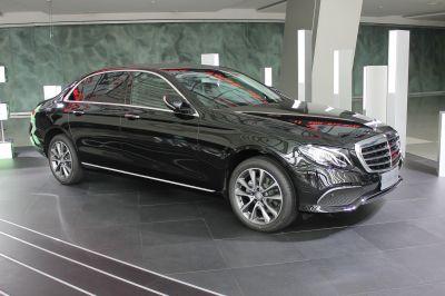 Neue Mercedes S Klasse Limousine
