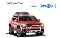 VW Tiguan Cross mit Spaccer Höhergelegt