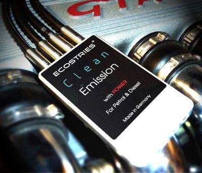 Klimaneutral Autofahren mit Clean Emission Serie CE-1201 von ECOSTRIES.