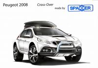 Peugeot 2008 Crossover mit Spaccer