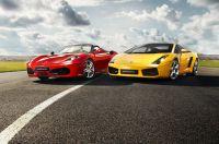 emotiondrive bietet einen hochkarätigen Fuhrpark aus aktuellen Ferrari- und Lamborghini-Modellen.