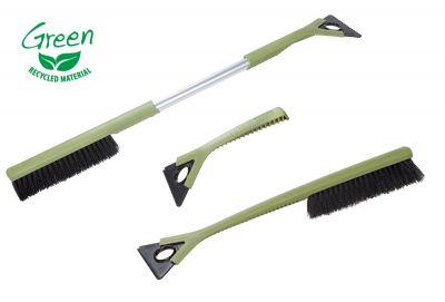 KUNGS Green Öko-Eiskratzer mit Schneebesen aus Recyclingmaterial