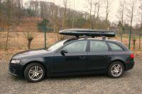 Dachbox Black Shark auf Audi
